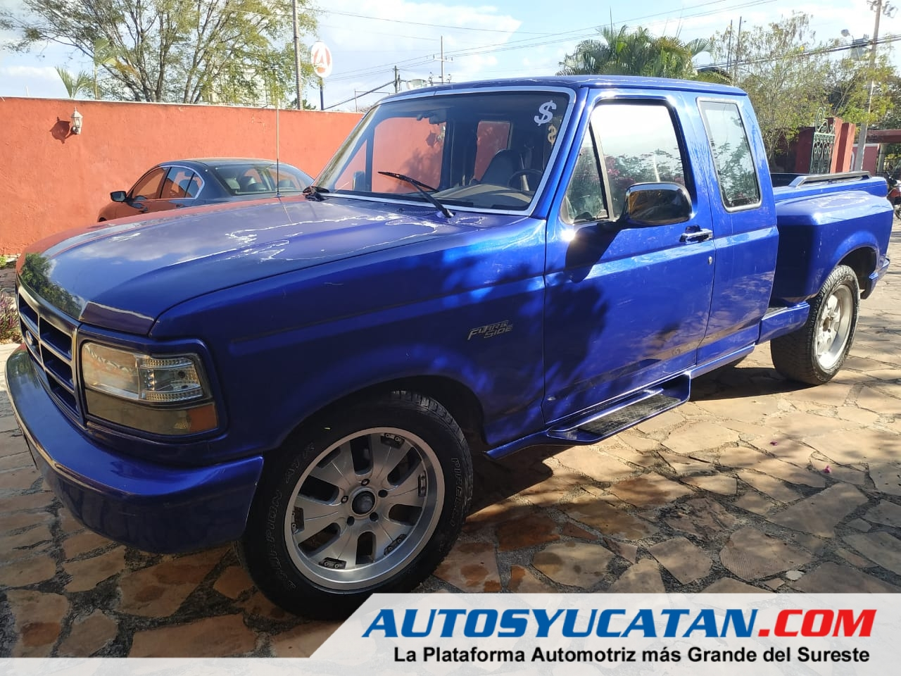Camioneta actualizada Pick up Ford F150 Flareside Caja Californiana 1994