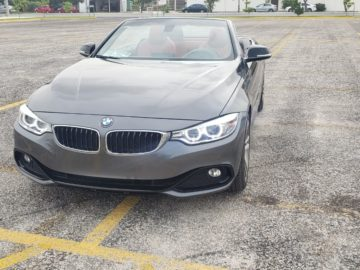 SE VENDE BMW 428i CONVERTIBLE MOD.2016 SPORT LINE CON 46,000 KM IMPECABLE EN PERFECTO ESTADO