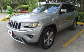 Jeep Grand Cherokee Lujo 2015