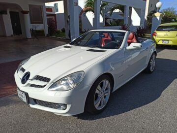 Mercedes Benz SLK 200 Kompressor Convertible 2009